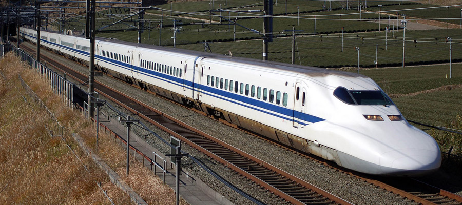 Shinkansen sneltrein