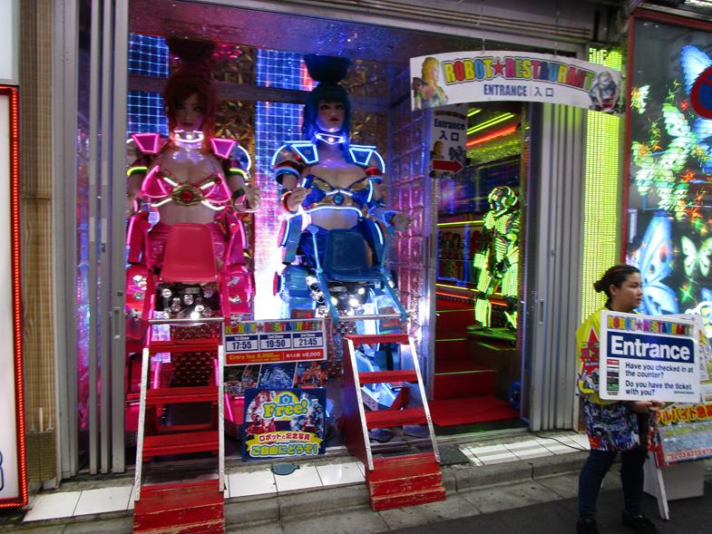 Robot restaurant in Harajuku