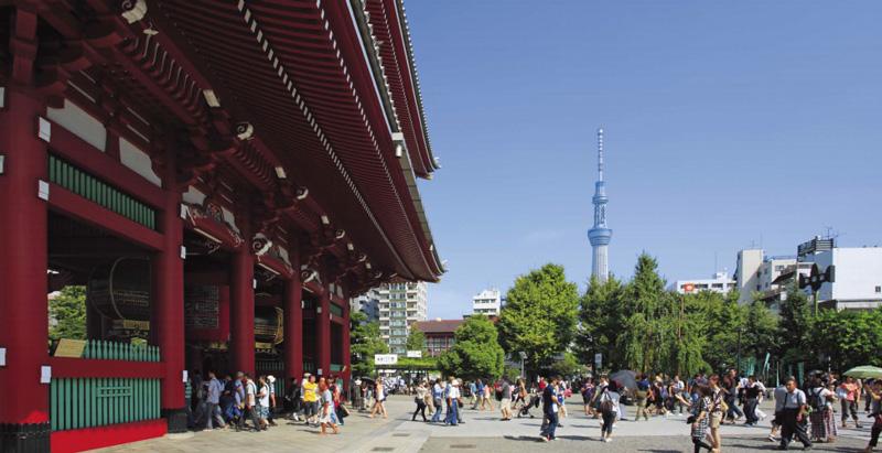 Senso Ji tempel Tokyo
