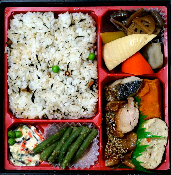traditionele Japanse bento