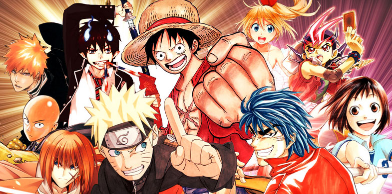 Japanse Manga tekeningen