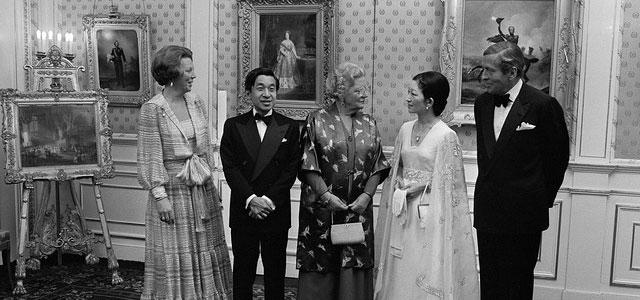 staatsbezoek prinses Beatrix aan Japan 1980