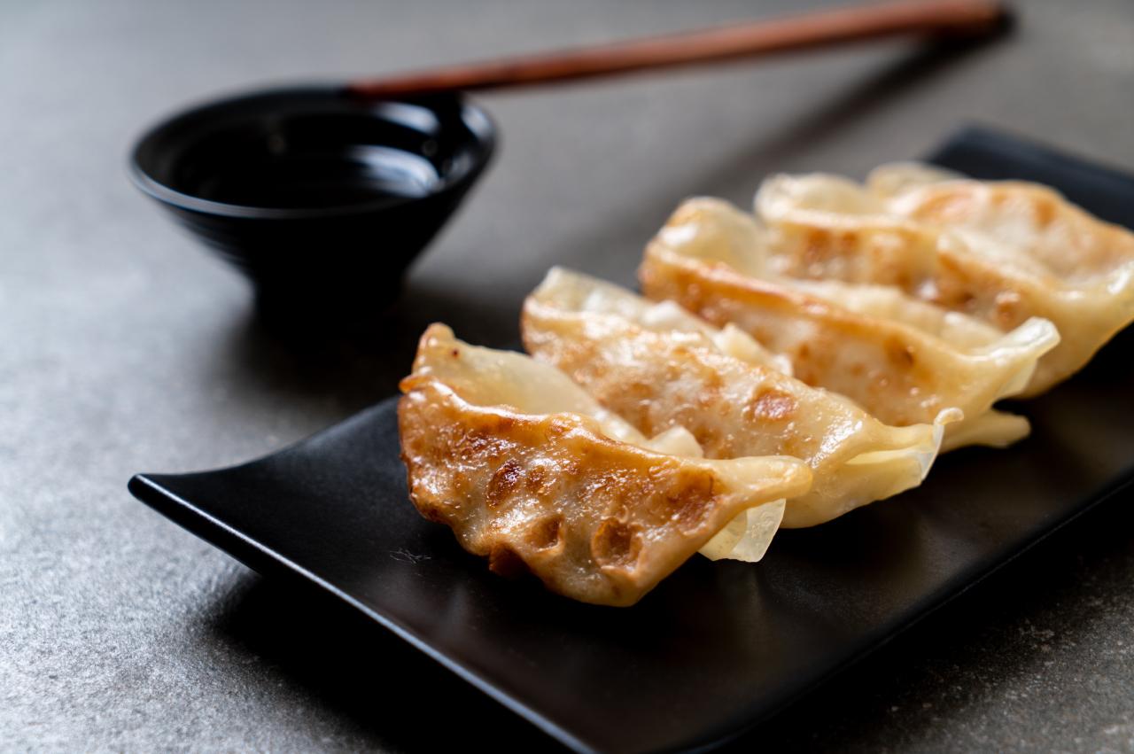 Japanse gyoza