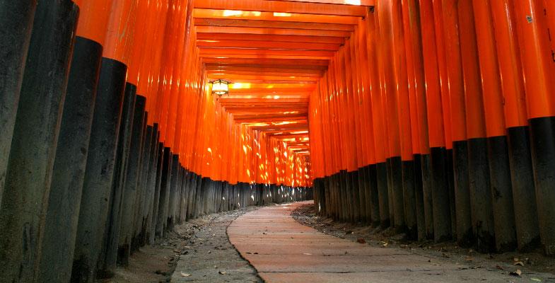Kyoto de tempelstad