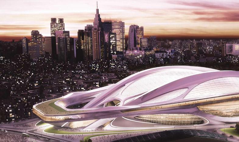 Olympisch Stadion Tokyo 2020