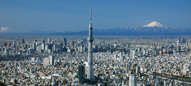 Tokyo Skytree zendmast