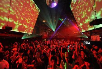 Womb discotheek in Tokyo