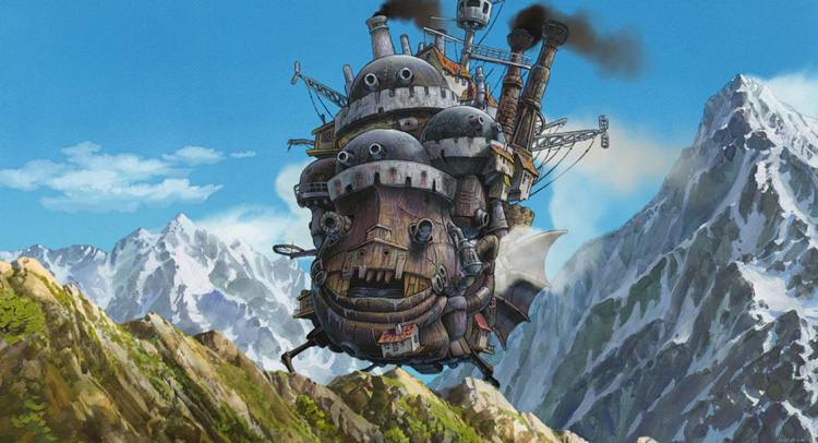 Howl's moving castle is de beste anime film