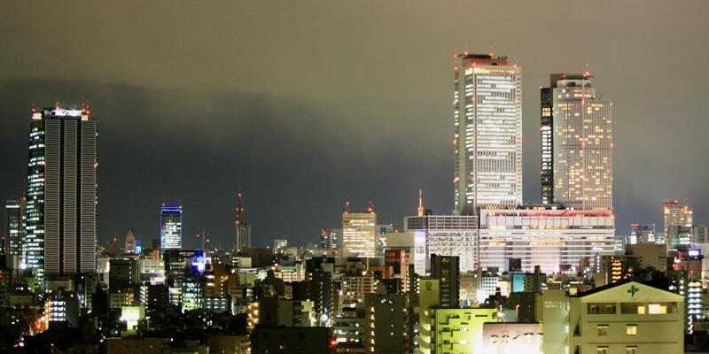 Nagoya Central Towers uitzichtpunt