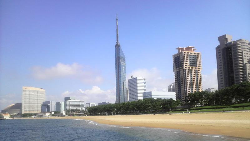 Fukuoka Tower heeft meerdere observatiedekken
