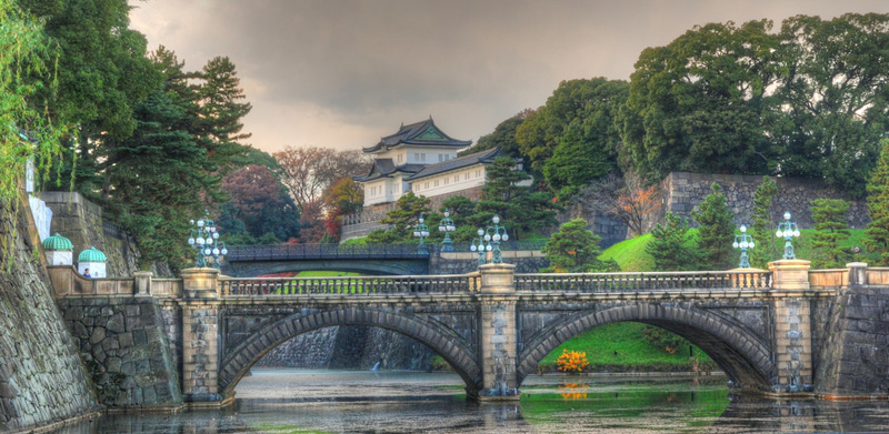 Keizerlijke paleis Tokyo