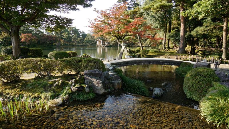 Kenrokuen Japanse Tuin