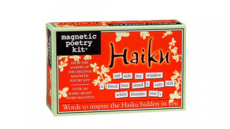 Haiku magnetische poezie