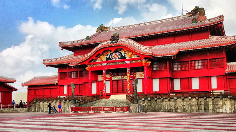 Okinawa hoofdstad Naha