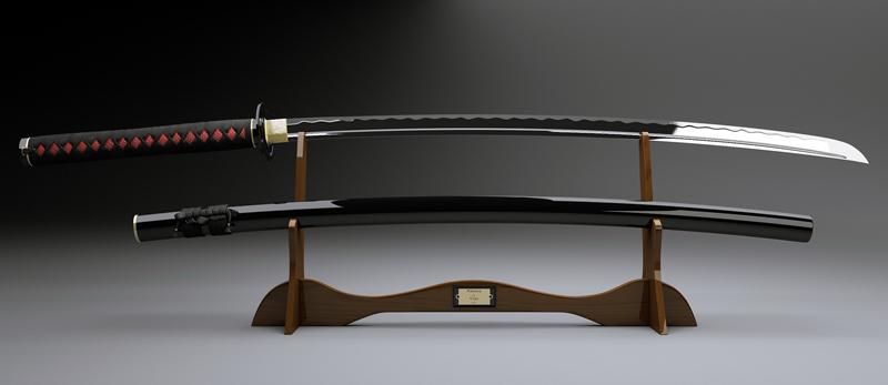 Katana het Samoerai zwaard