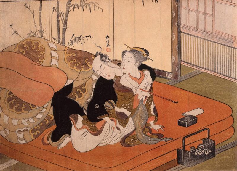 Erotische Shunga prenten