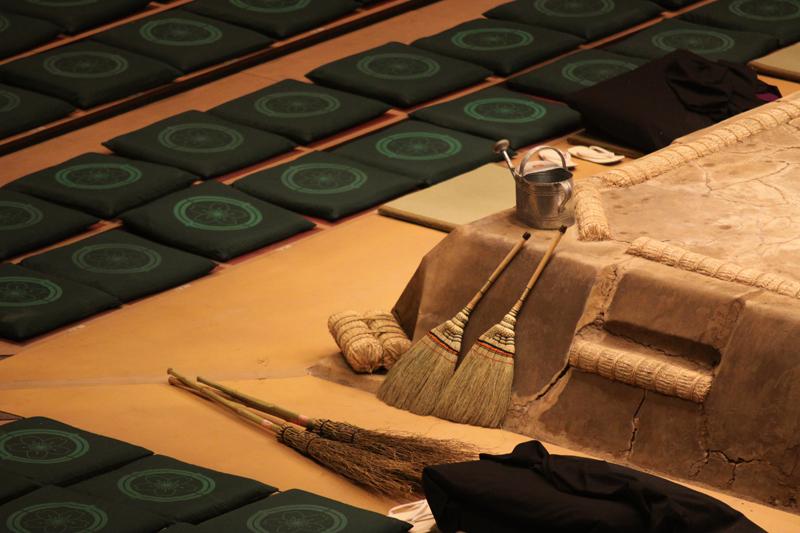 Ryogoku Kokugikan sumo mat