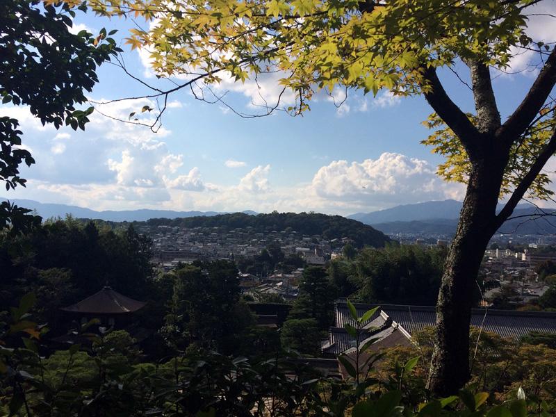 Uitzicht vanaf de Nanzenji Tempel