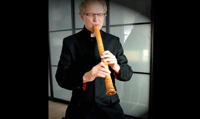 Harrie Starreveld en de shakuhachi-fluit