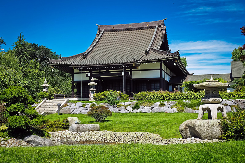 Shinto tempel in Japan