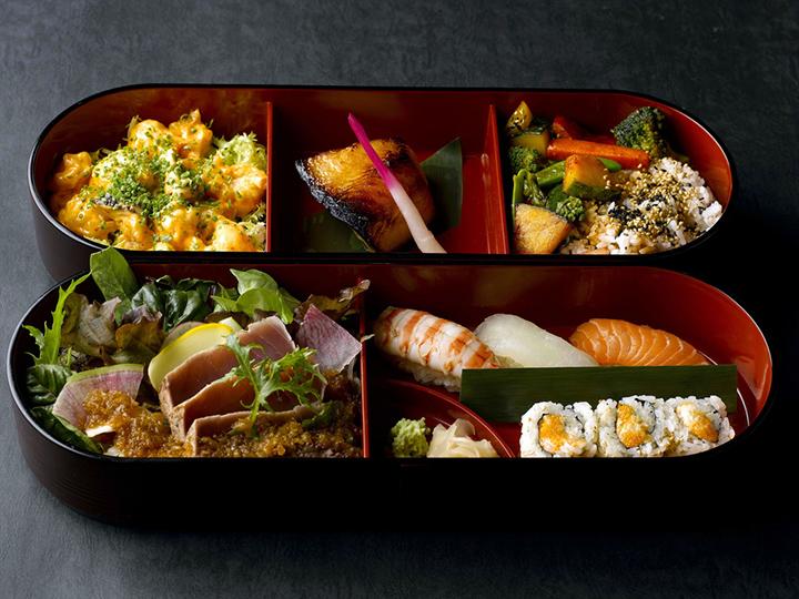Luxe bento box als streetfood
