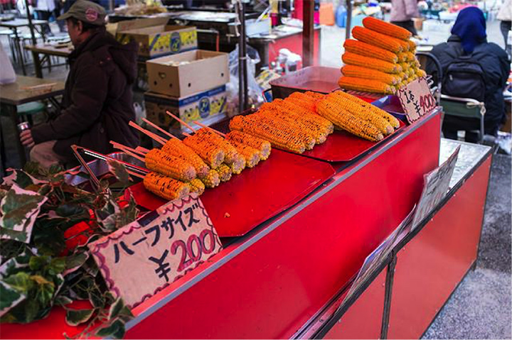 Yaki Tomorokoshi streetfood