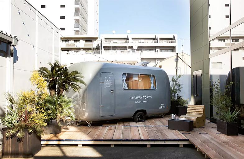 Caravan Tokyo Airbnb