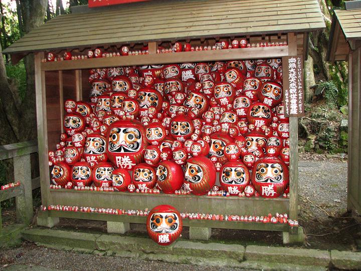 Daruma poppen tempel