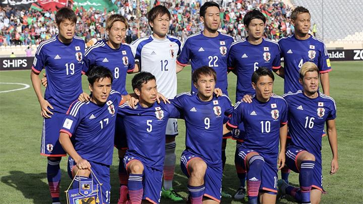 Voetbal elftal Japan