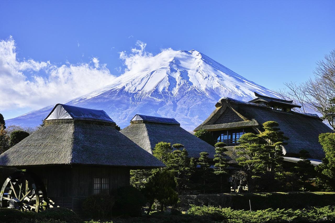 Japanse Alpen Honshu