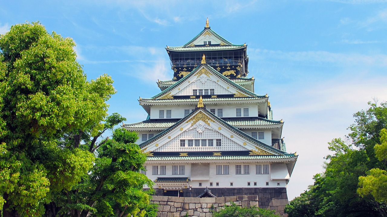 Osaka Castle Honshu Japan