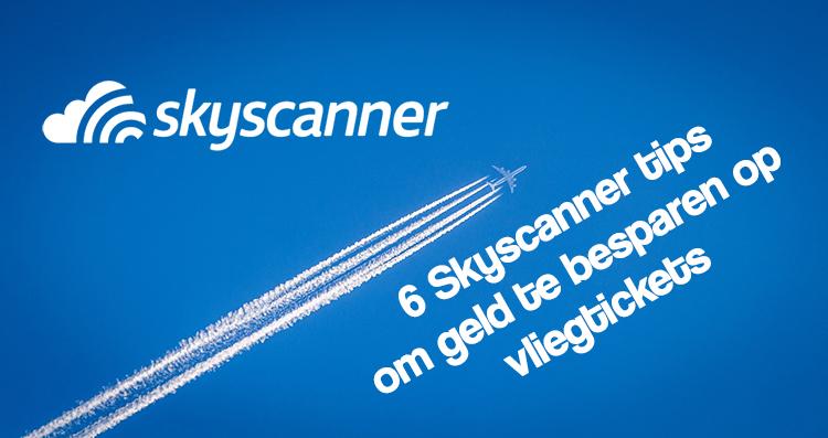 Skyscanner bespaartips