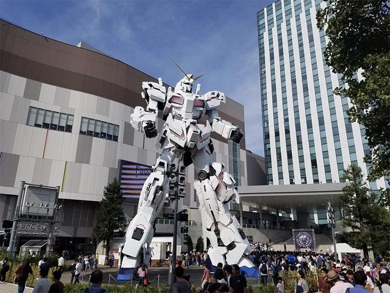 Gundam Robot Shinagawa Tokyo