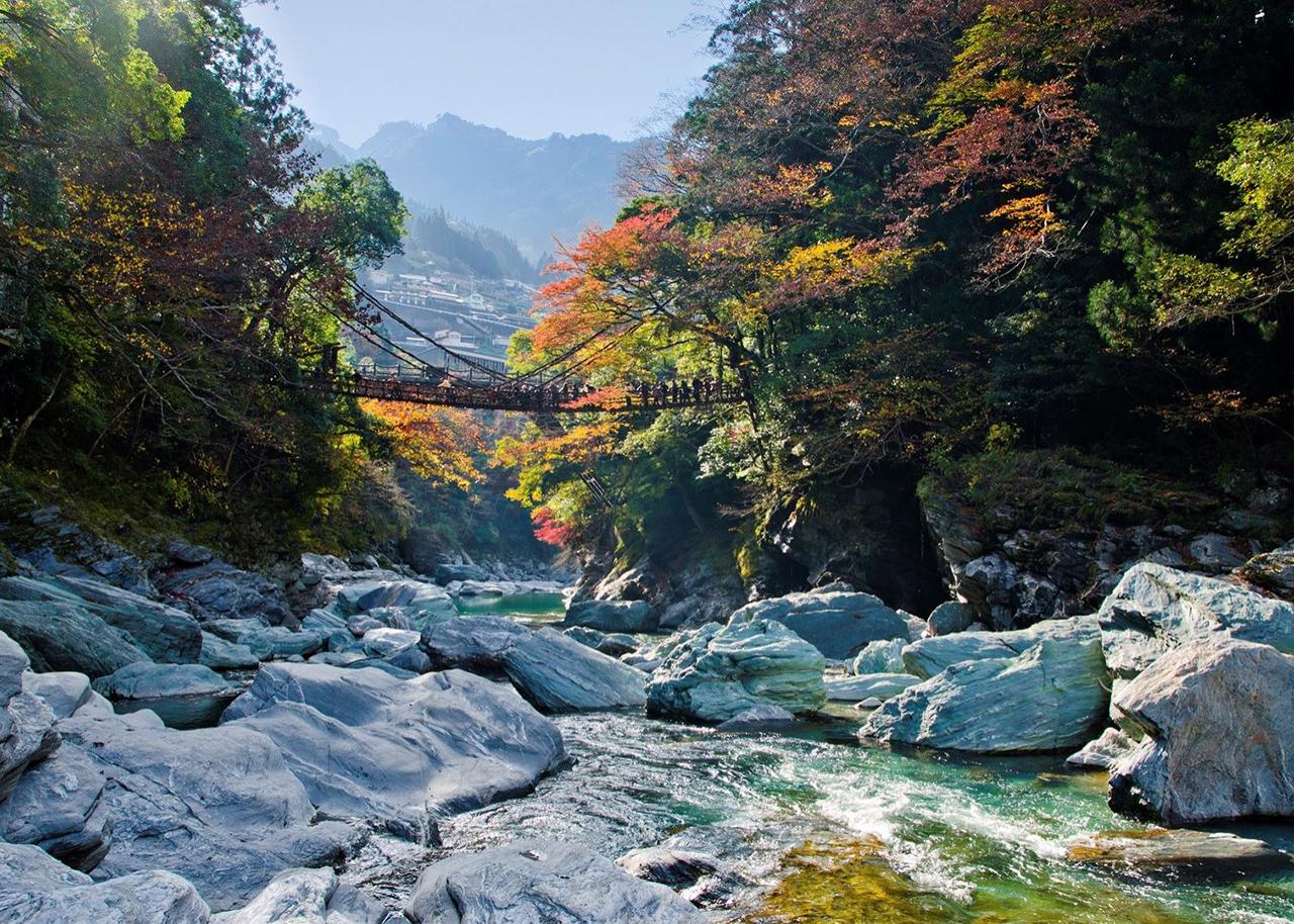 Iya vallei Japan Shikoku