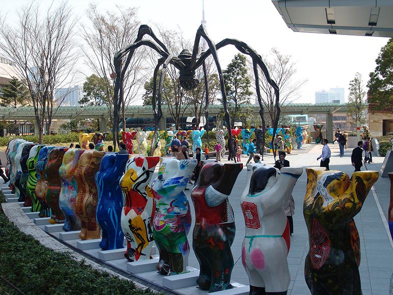 Maman Spider kunstwerk Roppongi