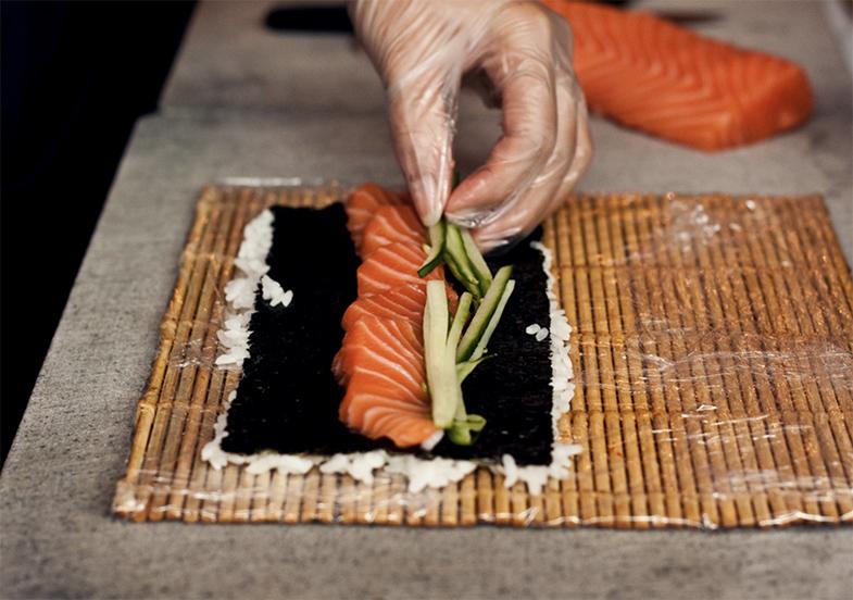 Sushi vulling