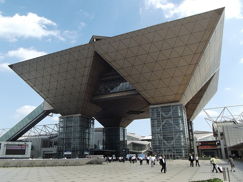 Tokto Big Sight Odaiba