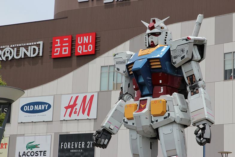 Winkelen in Odaiba
