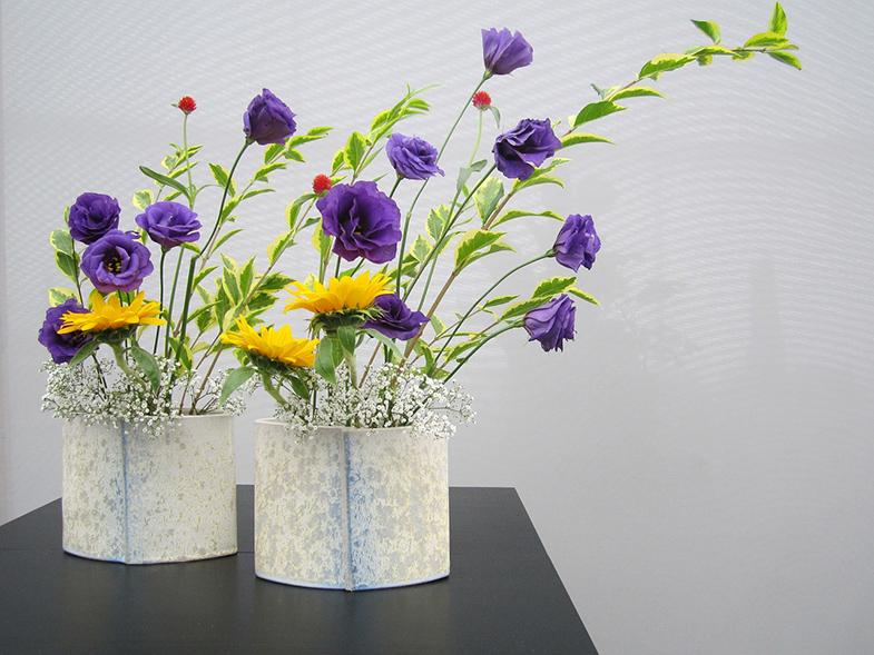 Ikebana bloemen kunst