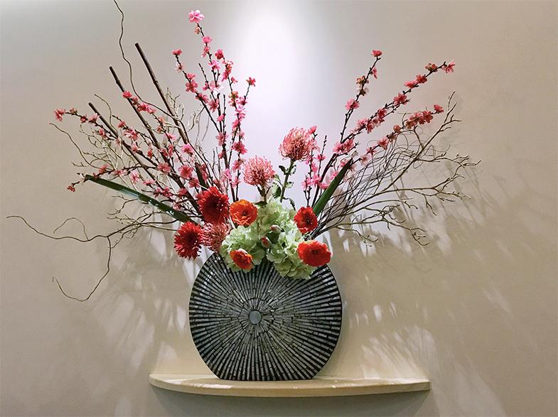 Japanse kunst Ikebana