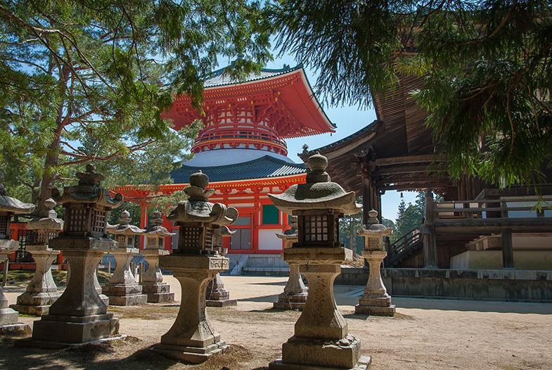 Koyasan Japan tempels
