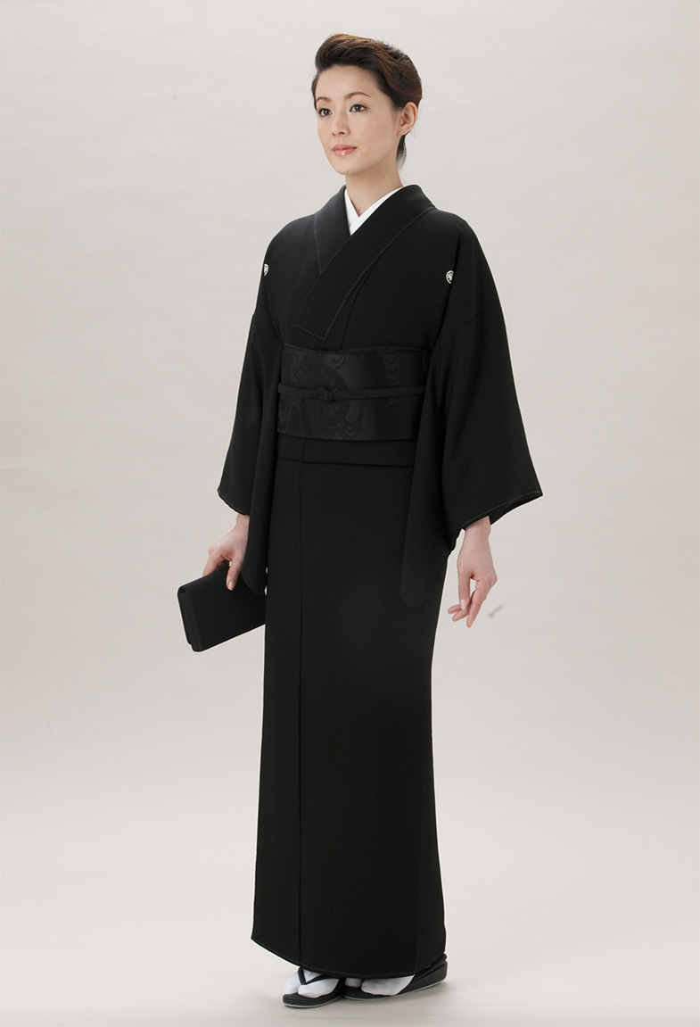 Mofuku kimono begrafenis