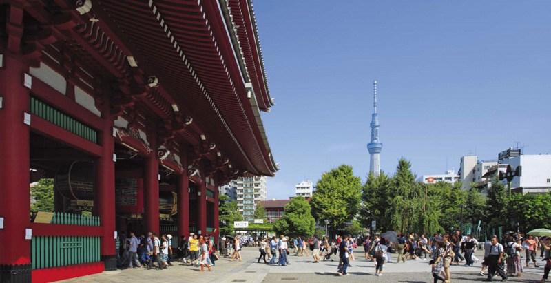 Senso ji Tempel in Tokyo
