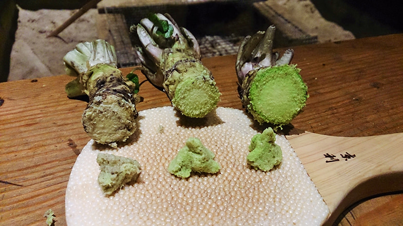 Wasabi raspen