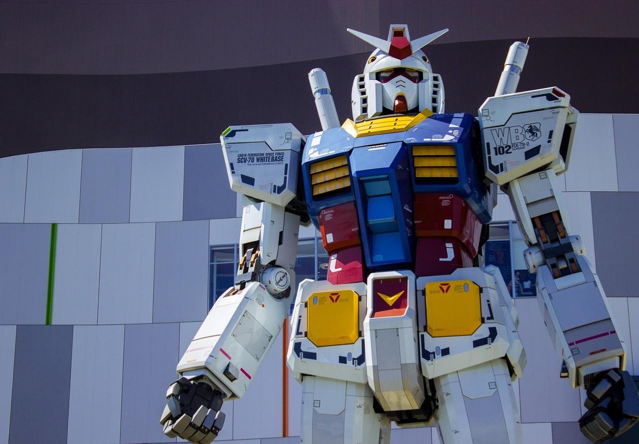 Tokyo Gundam Robot Odaiba