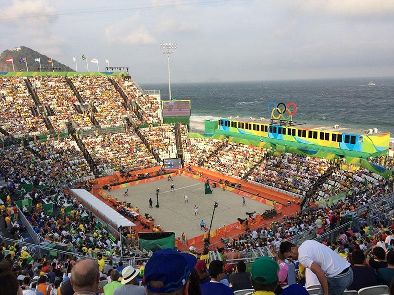 Olympisch Stadion beachvolleybal