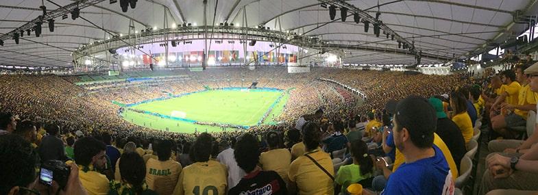 Olympisch Stadion voetbal