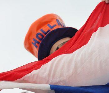Olympische fan Nederland