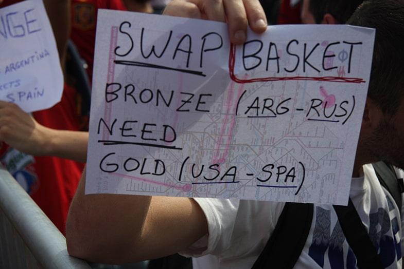 Olympische tickets ruilen