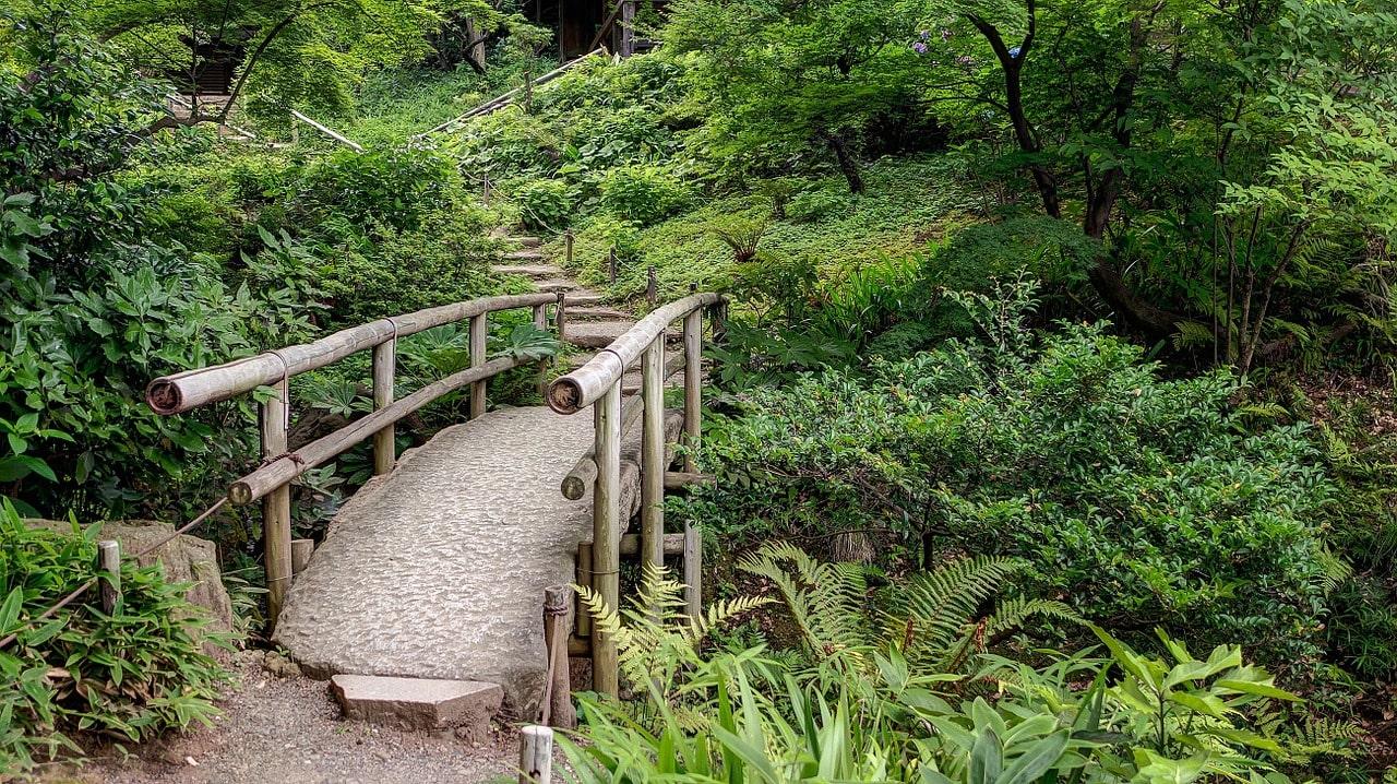 Sankeien Japanse tuin Yokohama